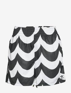 Marimekko Laine Shorts (Plus Size) W - casual shorts - black/white