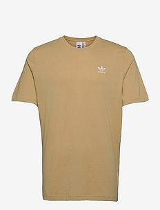 LOUNGEWEAR Adicolor Essentials Trefoil Tee - t-shirts - beiton