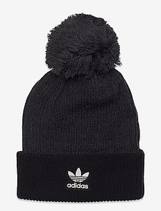Adicolor Collegiate Pom Beanie - hats - black