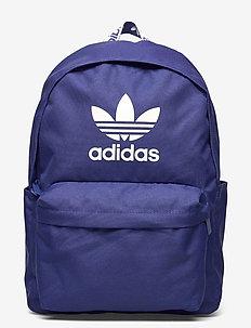 Adicolor Backpack - träningsväskor - vicblu/white