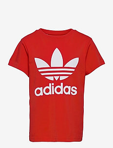 Trefoil Tee - kortærmede t-shirts - red/white