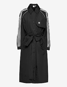 Adicolor Classics Trench Coat W - parkasjackor - black