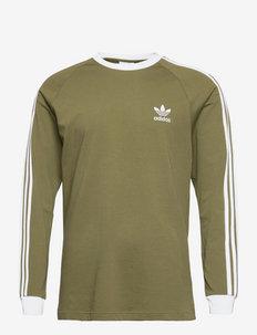 Adicolor Classics 3-Stripes Long Sleeve Tee - långärmade tröjor - focoli