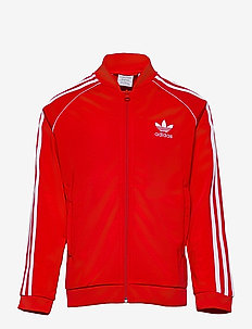 Adicolor Superstar Track Jacket - sweaters - red/white