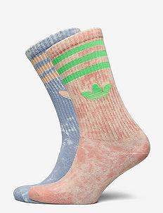 Tie-Dyed Socks 2 Pairs - vanliga strumpor - ambsky/amblus