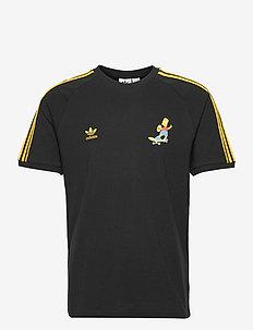 Simpsons 3-Stripes T-Shirt - sportstoppe - black