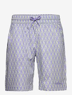 Monogram Short - casual shorts - multco