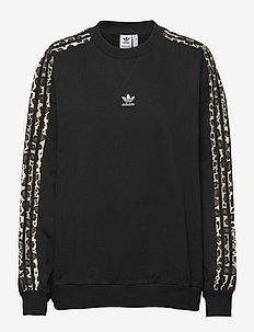 Crew Sweatshirt W - sweatshirts - black