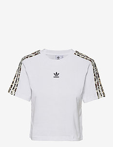 Cropped T-Shirt W - crop-tops - white