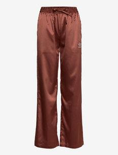 2000 Luxe Wide-Leg Pants W - spodnie sportowe - earbrn