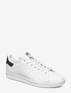 STAN SMITH - låga sneakers - cwhite/cwhite/dkblue