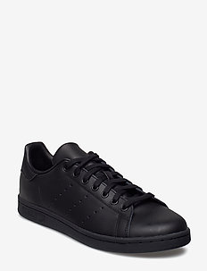 STAN SMITH - lav ankel - black1/black1/black1