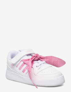 Forum Low - lave sneakers - ftwwht/ftwwht/ltpink