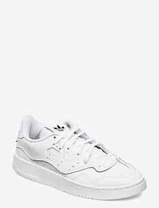SUPERCOURT STYLE W - sneakers med lav ankel - ftwwht/ftwwht/cblack