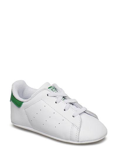 detailed look 6f4c5 10c63 Stan Smith Crib (Ftwwht ftwwht green) (34.95 €) - adidas Originals -    Boozt.com