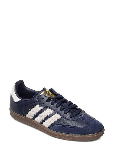 Samba Og Ft Niedrige Sneaker Blau ADIDAS ORIGINALS