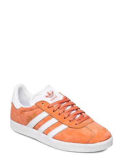 Gazelle W Niedrige Sneaker Orange ADIDAS ORIGINALS