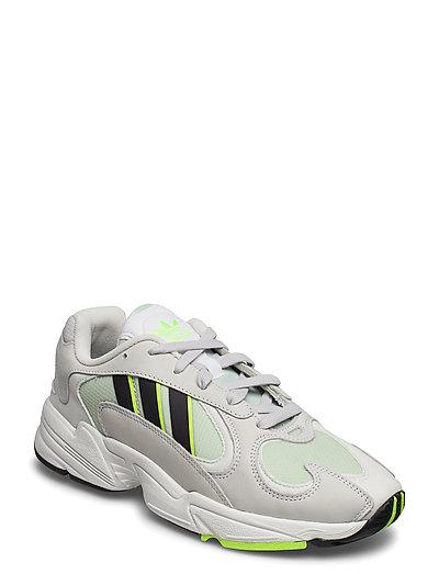 Yung-1 Niedrige Sneaker Grau ADIDAS ORIGINALS