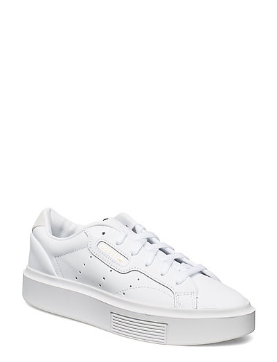 Adidas Sleek Super W Niedrige Sneaker Weiß ADIDAS ORIGINALS