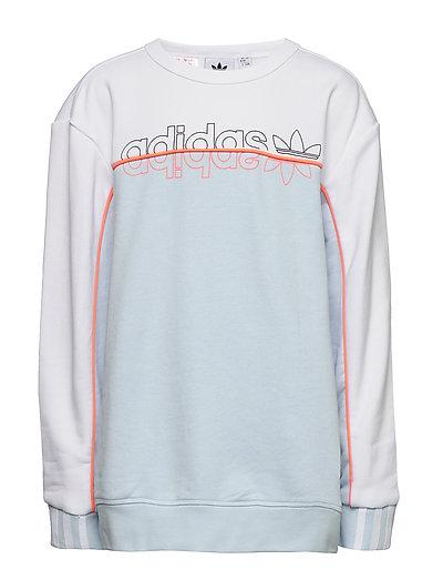 Shoppa adidas Originals R.Y.V. Crew Sweatshirt i en Grå färg
