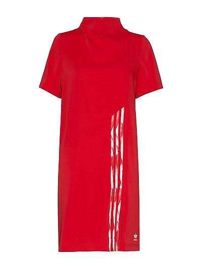 Dc Dress Kleid Knielang Rot ADIDAS ORIGINALS