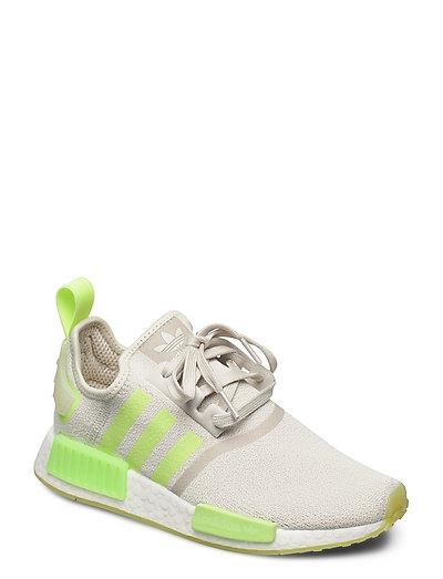 Nmd_r1 W Niedrige Sneaker Grau ADIDAS ORIGINALS