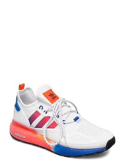 Zx 2k Boost Niedrige Sneaker Weiß ADIDAS ORIGINALS