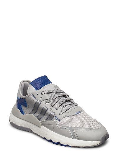 Nite Jogger Niedrige Sneaker Grau ADIDAS ORIGINALS