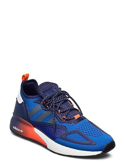 Zx 2k Boost Niedrige Sneaker Blau ADIDAS ORIGINALS