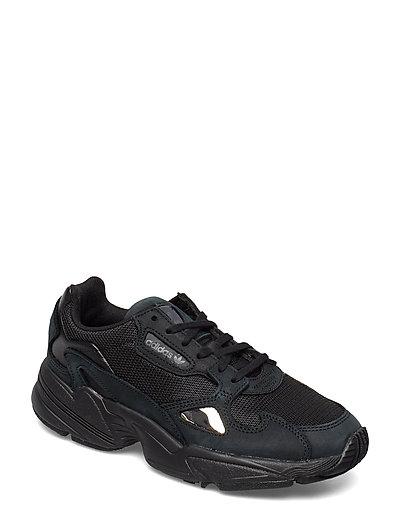 Falcon W Niedrige Sneaker Schwarz ADIDAS ORIGINALS