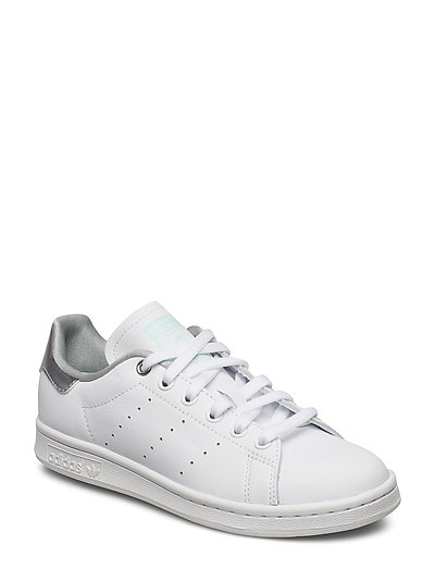 top fashion picked up good looking Stan Smith W (Ftwwht/silvmt/clemin) (769.30 kr) - adidas Originals ...