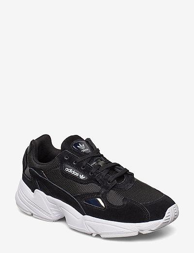 FALCON W - chunky sneaker - cblack/cblack/ftwwht