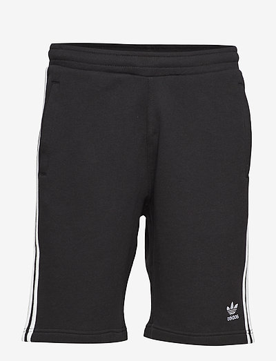 3-STRIPE SHORT - casual shorts - black