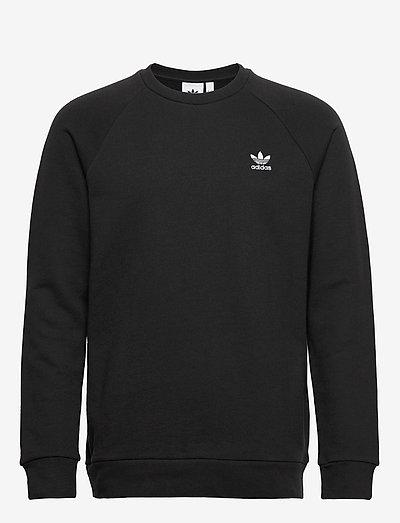 ESSENTIAL CREW - basic sweatshirts - black