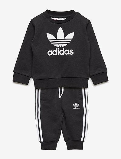 Crew Sweatshirt Set - sweatshirts - black/white
