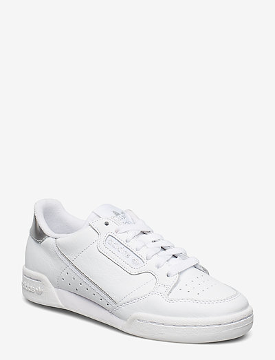 Continental 80 W - lage sneakers - ftwwht/ftwwht/silvmt
