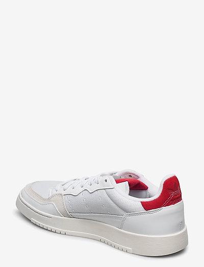 Adidas Originals Supercourt- Tennarit Ftwwht/ftwwht/scarle