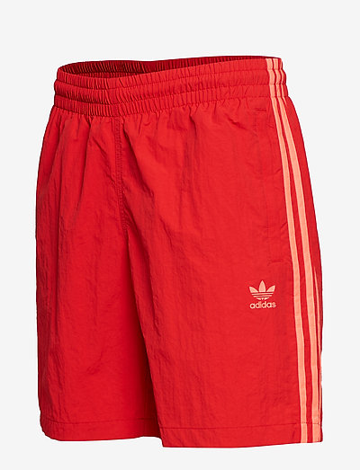 Adidas Originals 3-stripes Swim- Stroje Kąpielow Scarle/flared