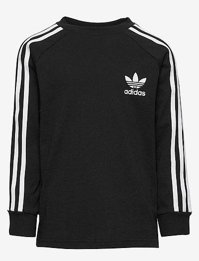 3-Stripes Tee - långärmade t-shirts - black/white