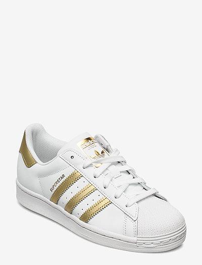 Superstar  W - låga sneakers - ftwwht/goldmt/ftwwht