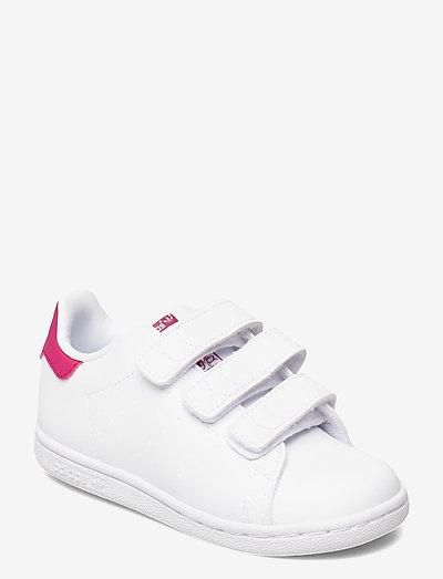 Stan Smith - lave sneakers - ftwwht/ftwwht/bopink