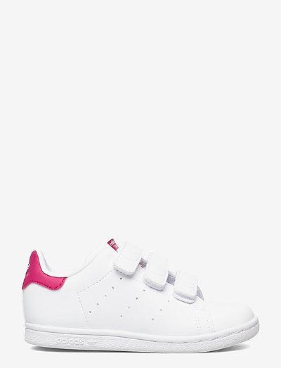 Stan Smith - laag sneakers - ftwwht/ftwwht/bopink