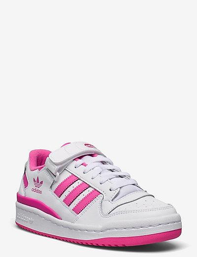 Forum Low - lave sneakers - ftwwht/scrpnk/ftwwht