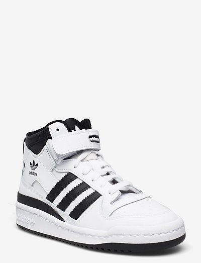 Forum Mid - høje sneakers - ftwwht/cblack/ftwwht
