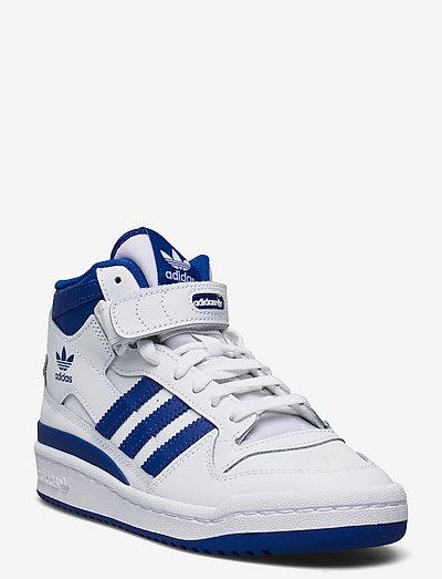 Forum Mid - høje sneakers - ftwwht/royblu/ftwwht