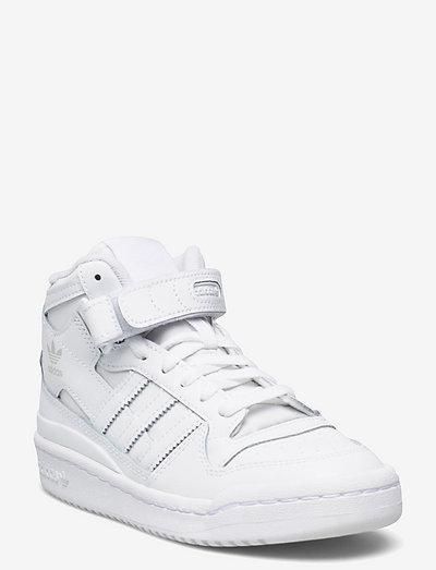 Forum Mid - høje sneakers - ftwwht/ftwwht/ftwwht