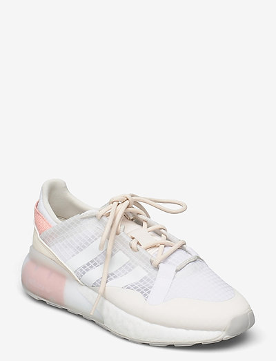 ZX 2K BOOST PURE W - lage sneakers - cwhite/greone/cwhite