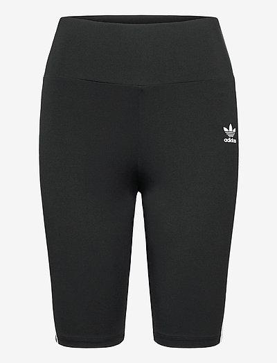 Adicolor Classics Primeblue High Waist Short Tights W - cycling shorts - black