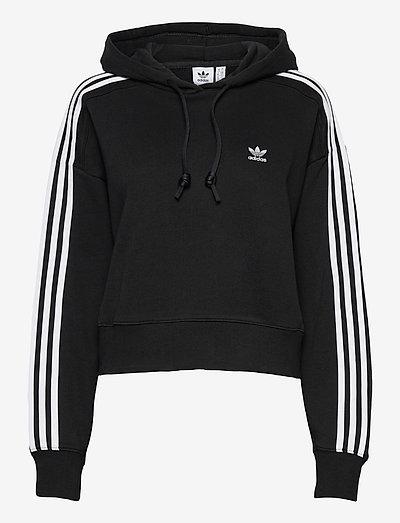 Adicolor Classics Crop Hoodie W - hoodies - black