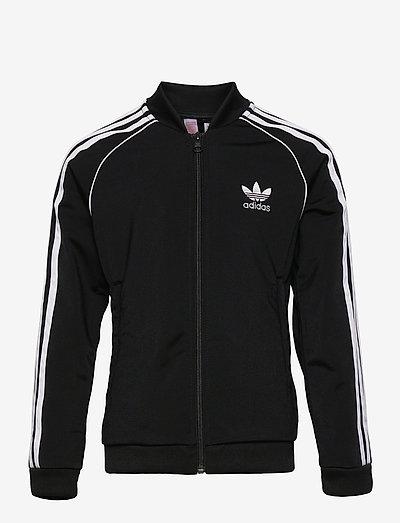 Adicolor Superstar Track Jacket - sweatshirts - black/white